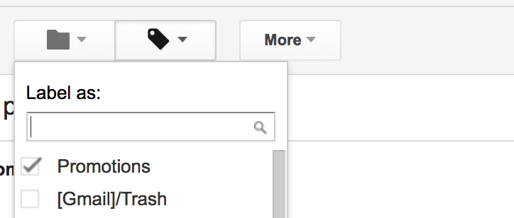 organize gmail
