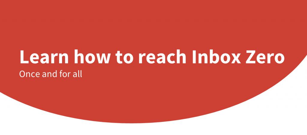how to reach inbox zero