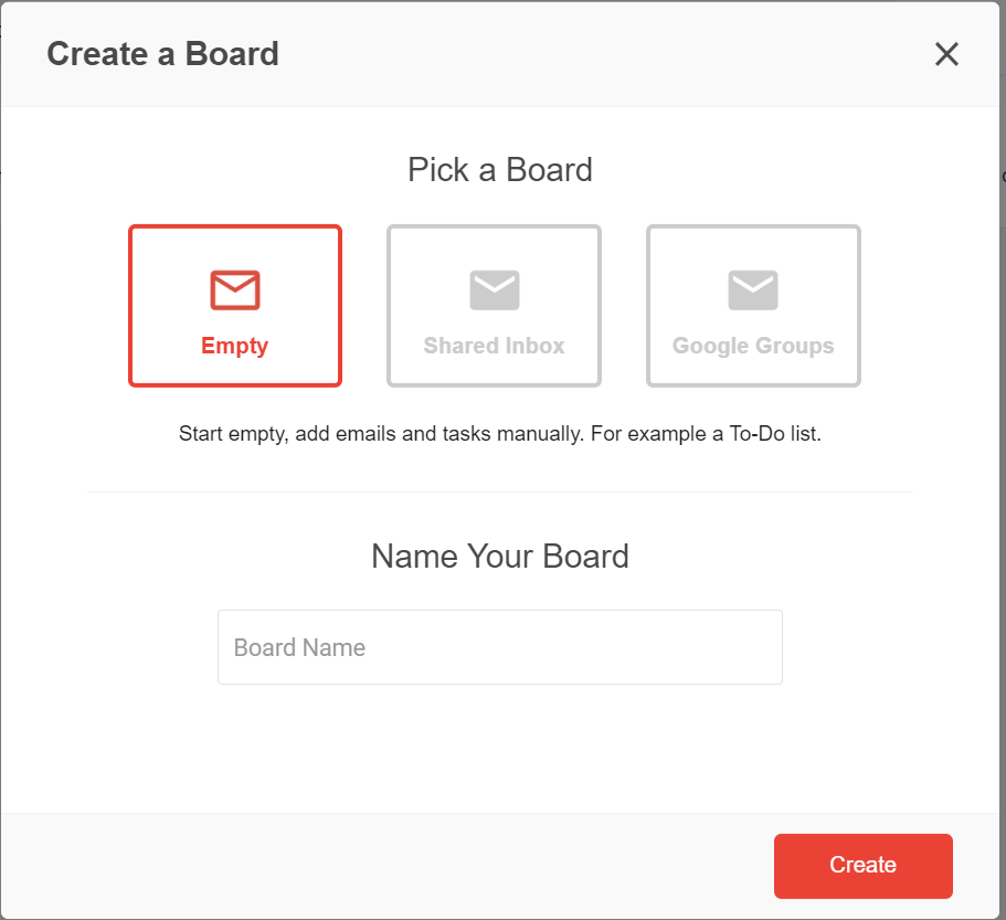 board g suite shared mailbox