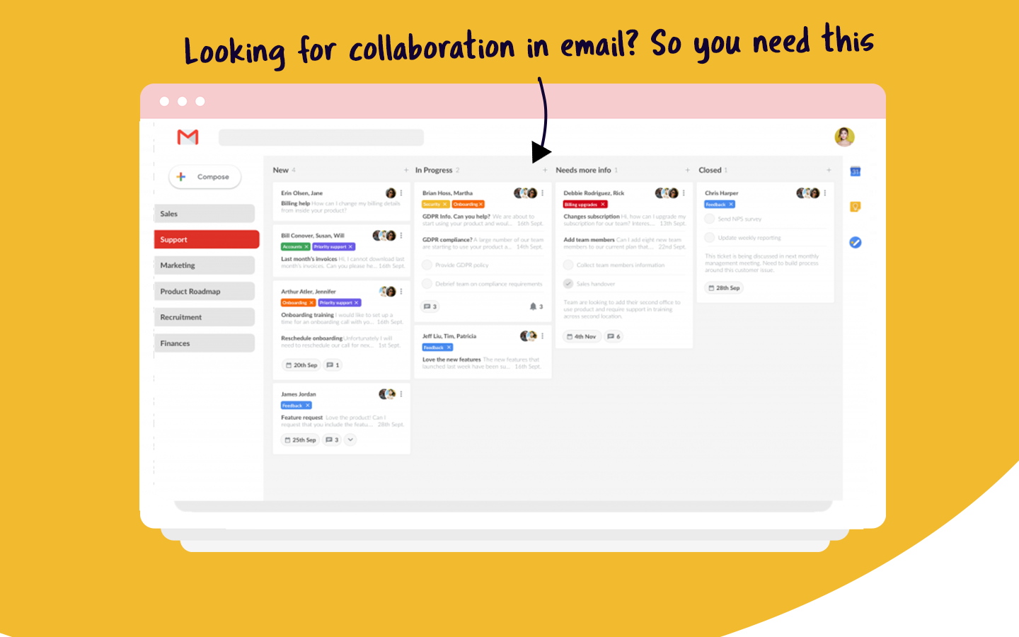 collaboration email