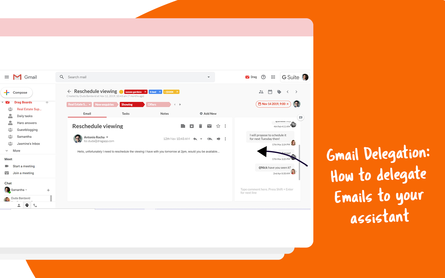 Gmail Delegation How To Delegate Emails To Your Assistant