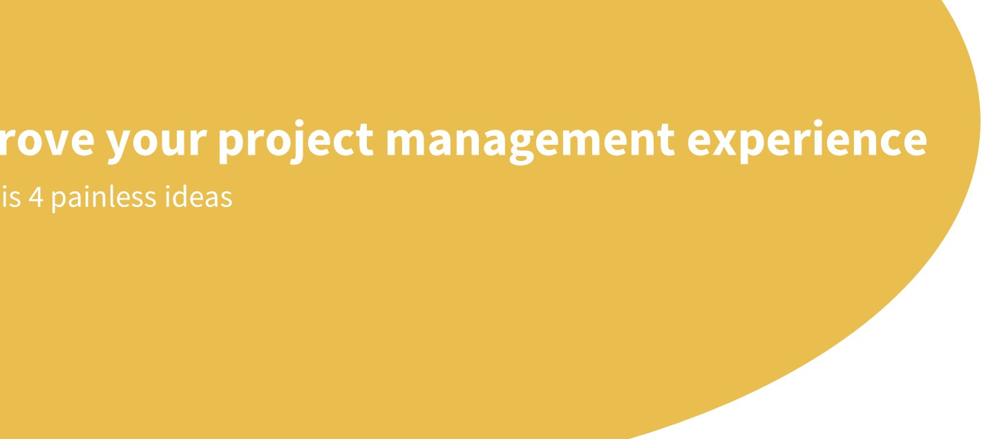 project management experience