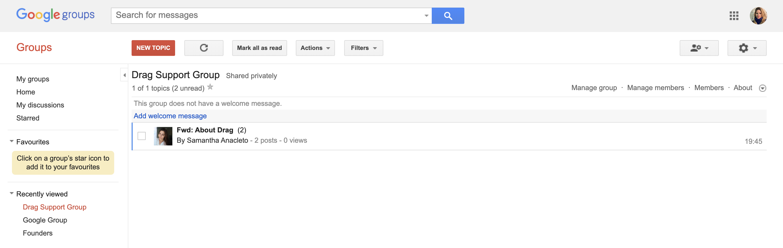 google collaborative inbox