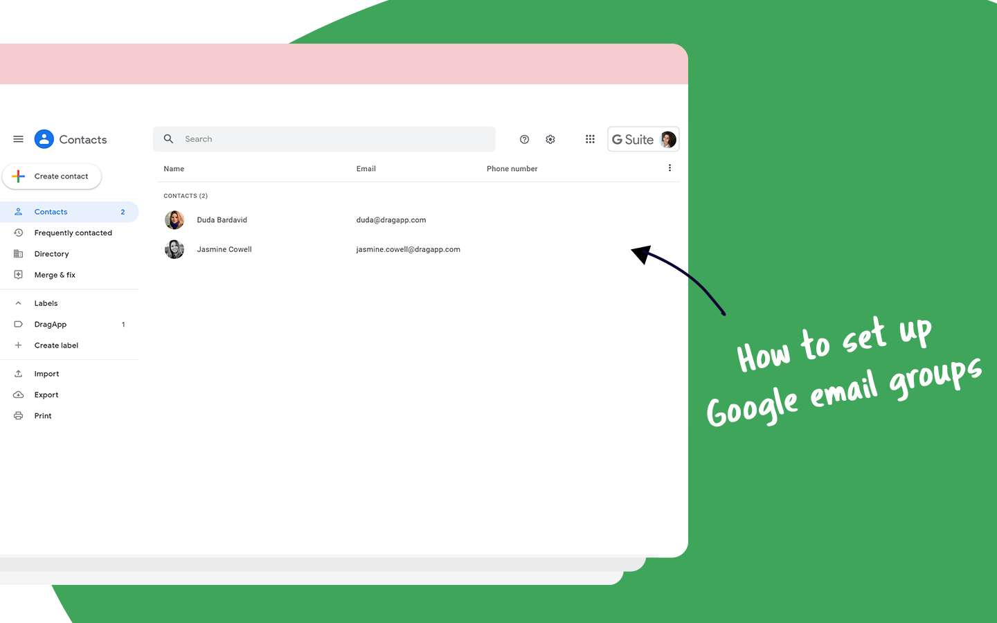 Google Email Groups