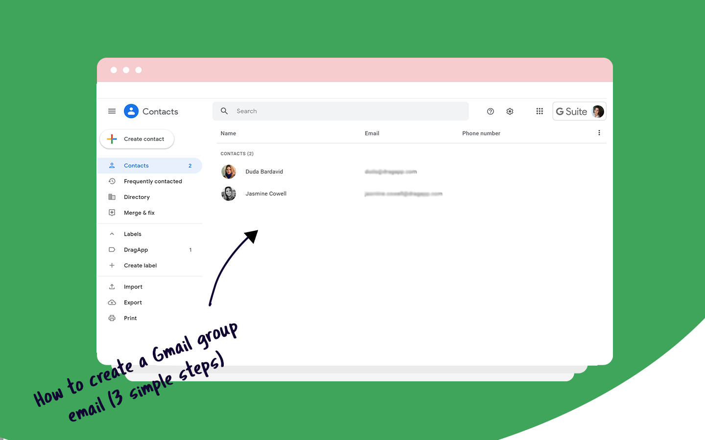 gmail group email