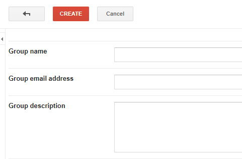 configurate your Google Groups account