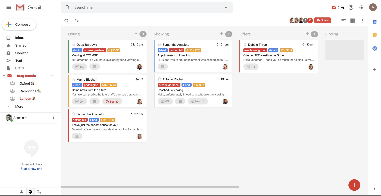 share inbox team