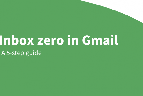 inbox zero gmail