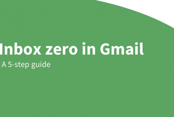 inbox zero gmail