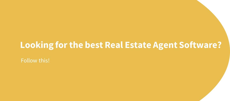 real estate agent software