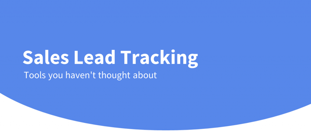 sales lead tracking