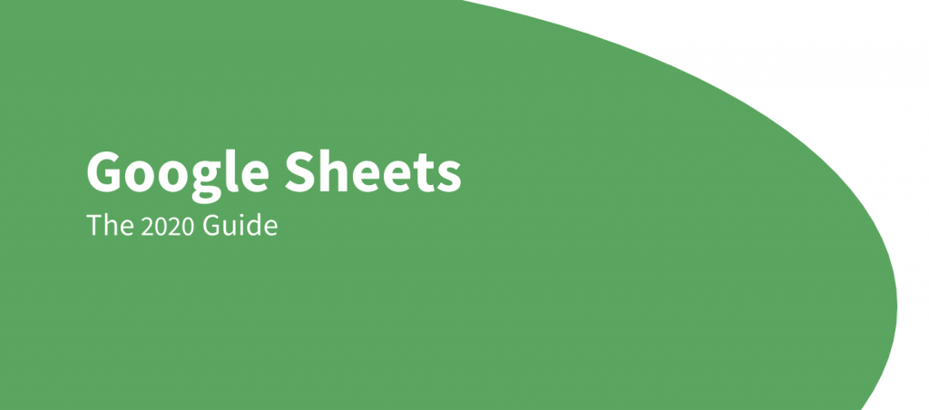 google sheets guide