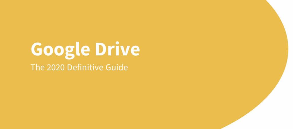 google drive guide