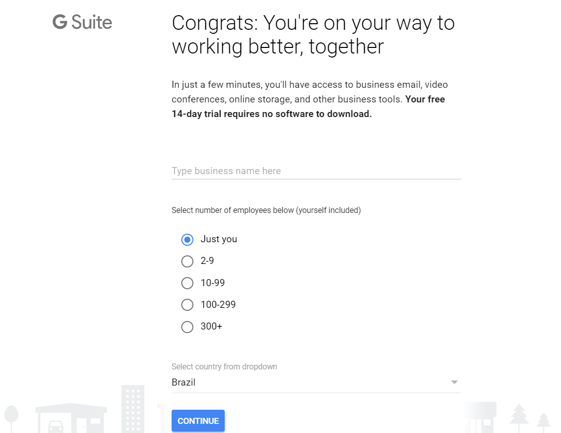 how to set G Suite
