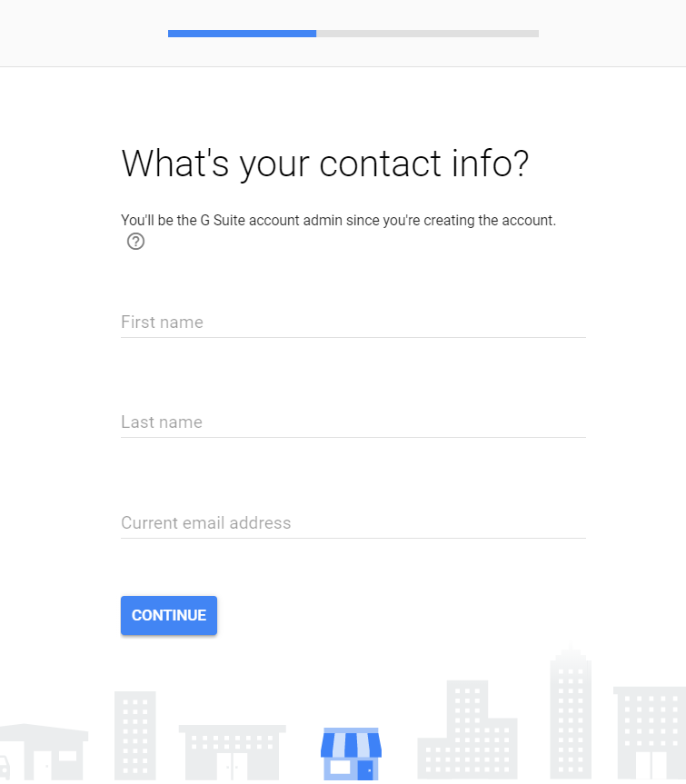 g suite sign up