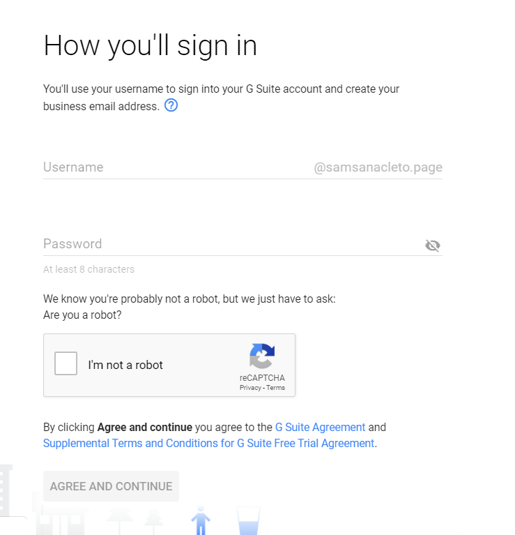 how to set up g suite