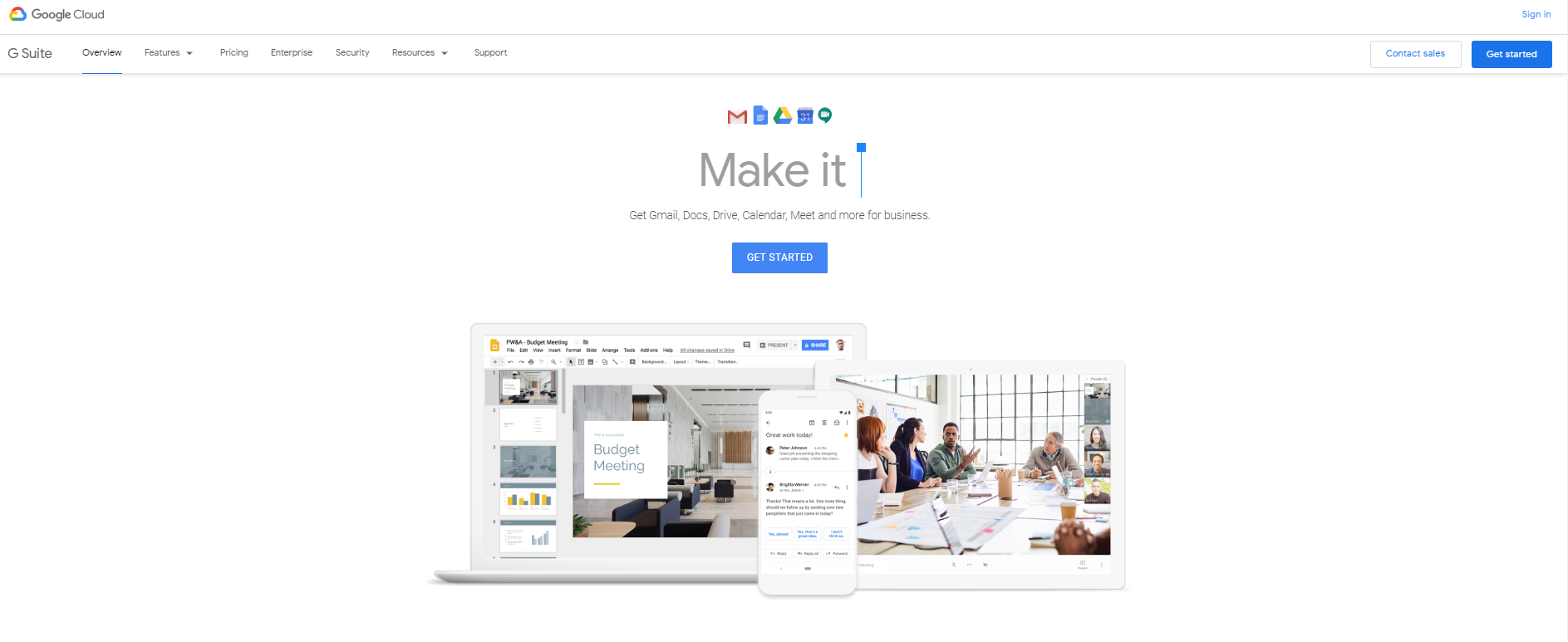 g suite home