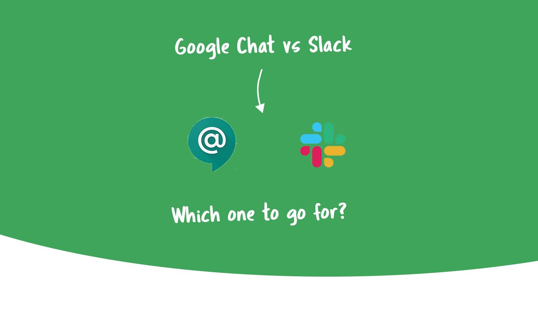 google chat vs slack