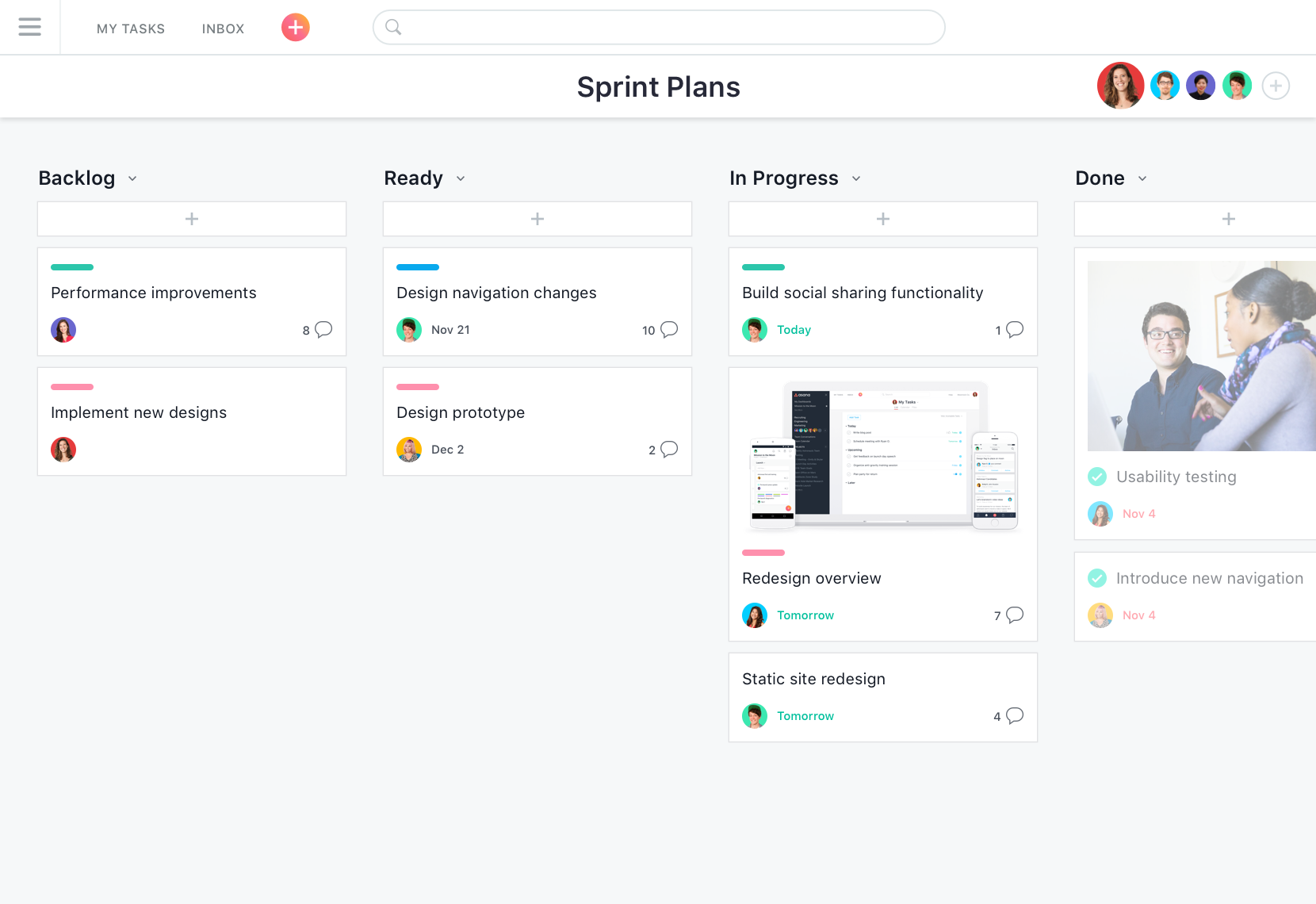 Asana project manager
