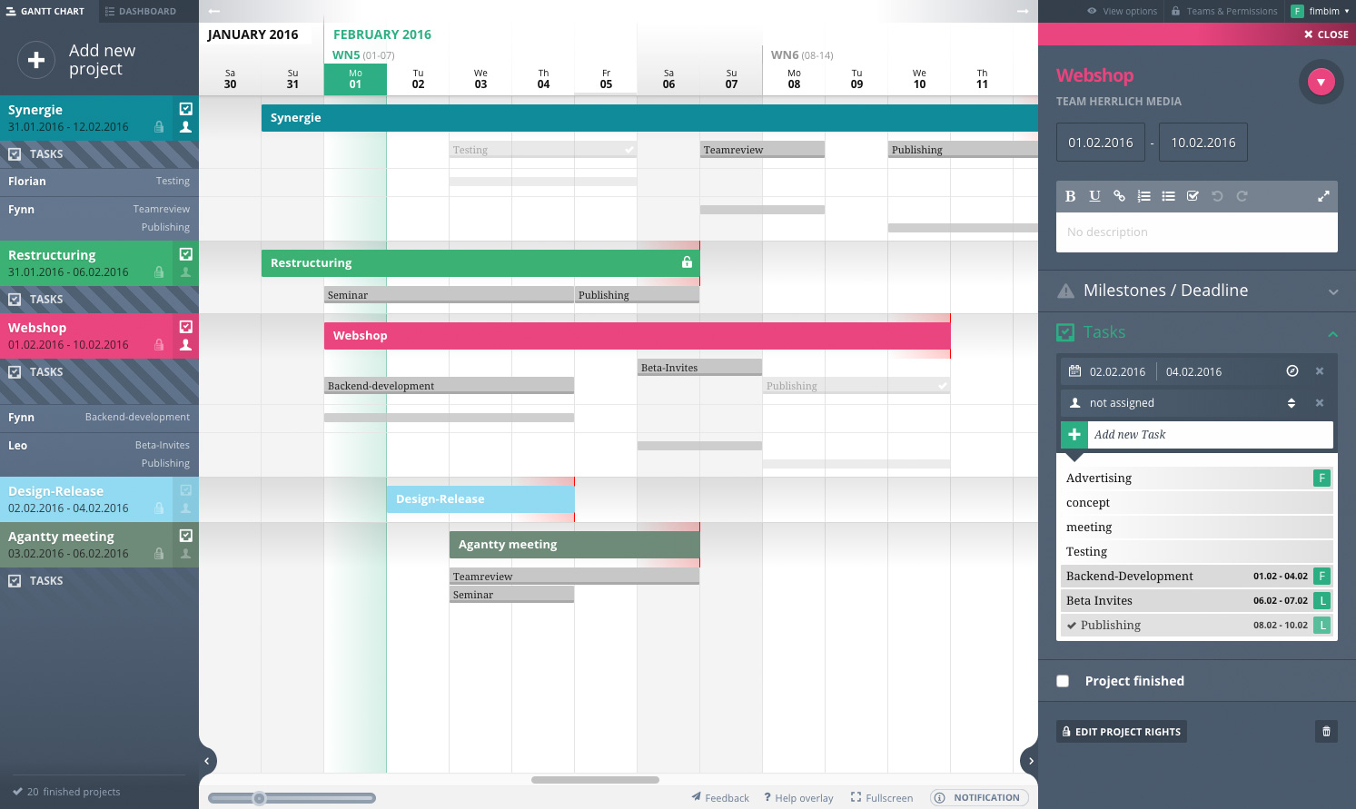 free project management solution