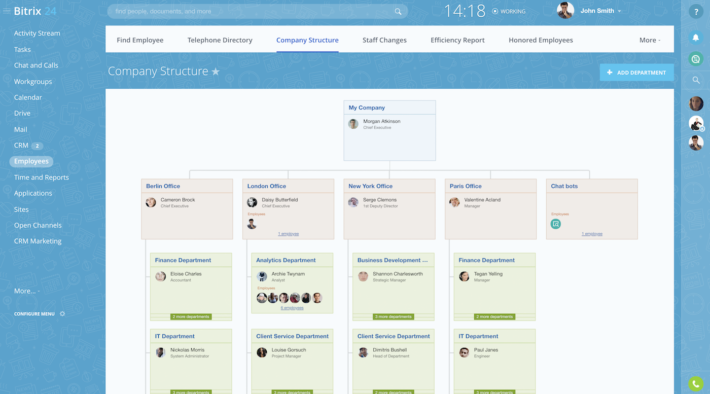 Bitrix Project Management tool