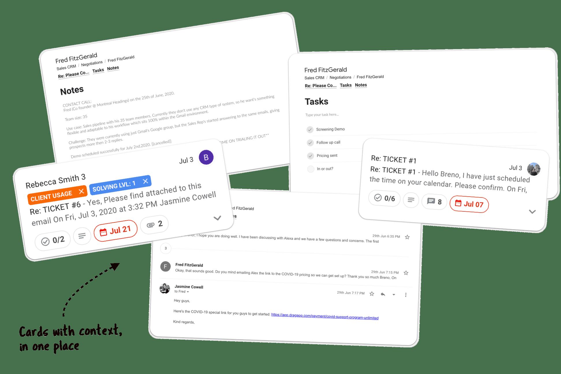 Gmail organized