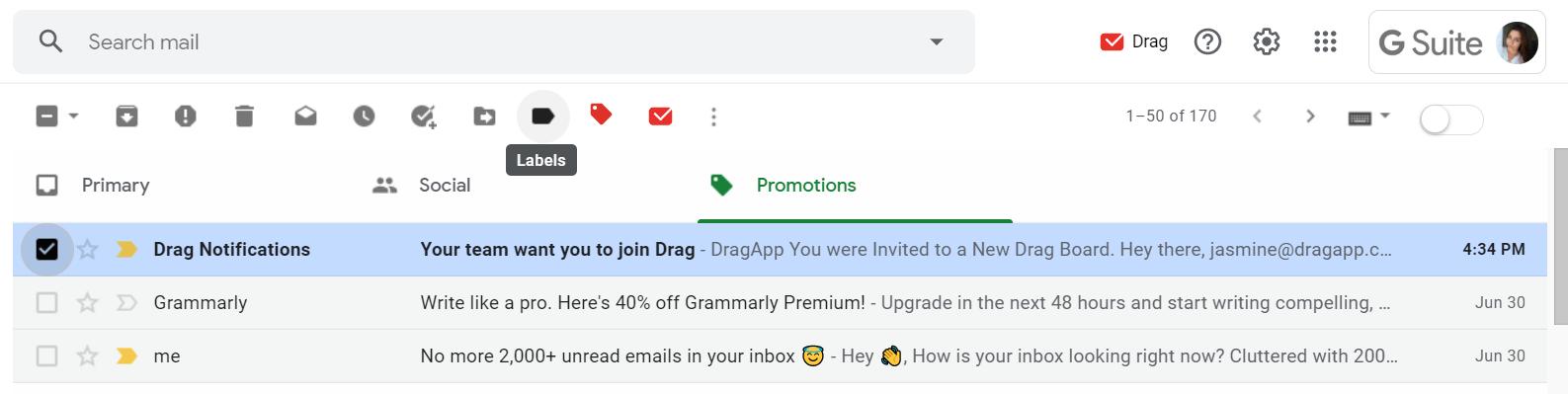 automate Gmail