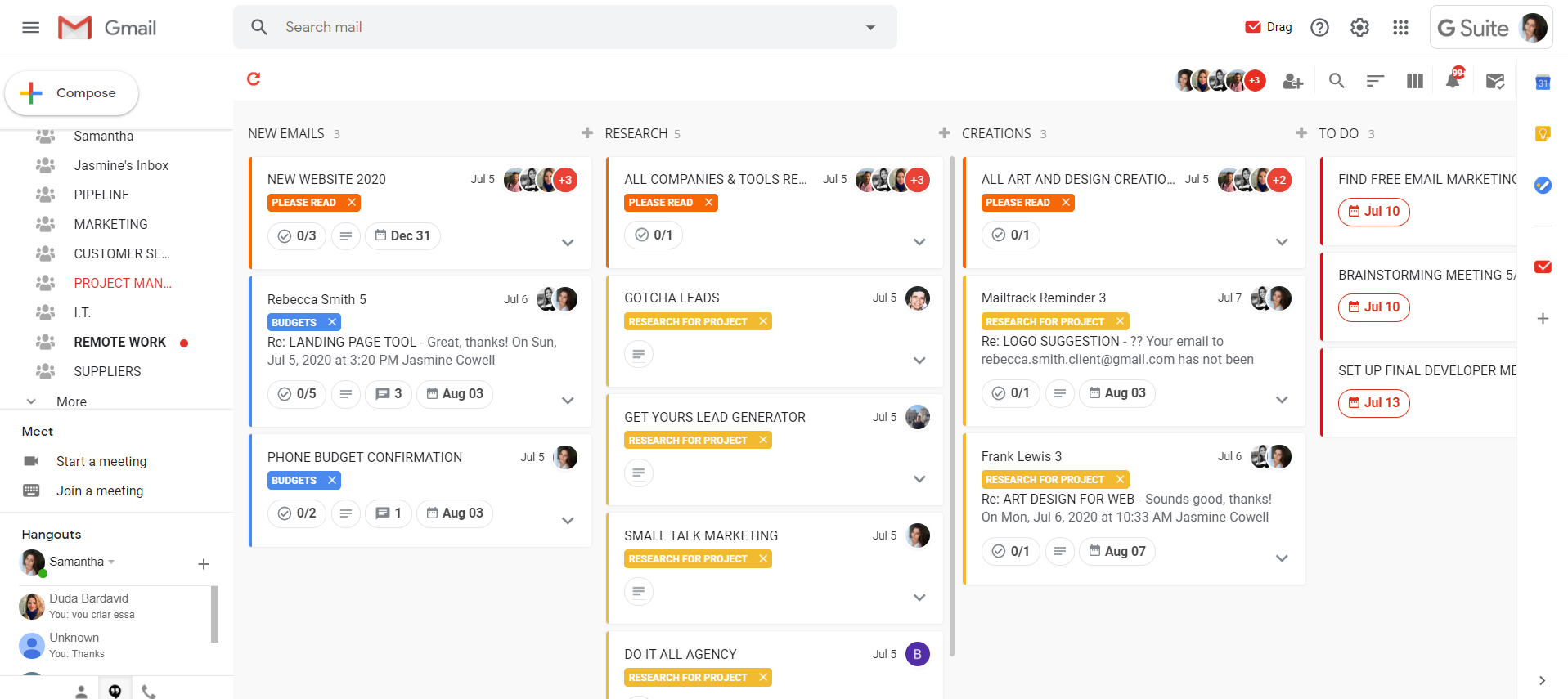 DragApp Free Project Management Software