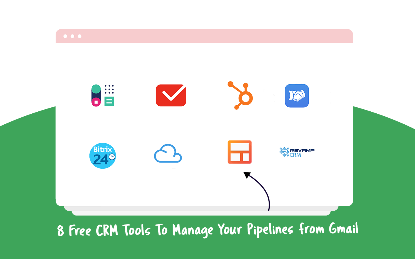 Free CRM in Gmail