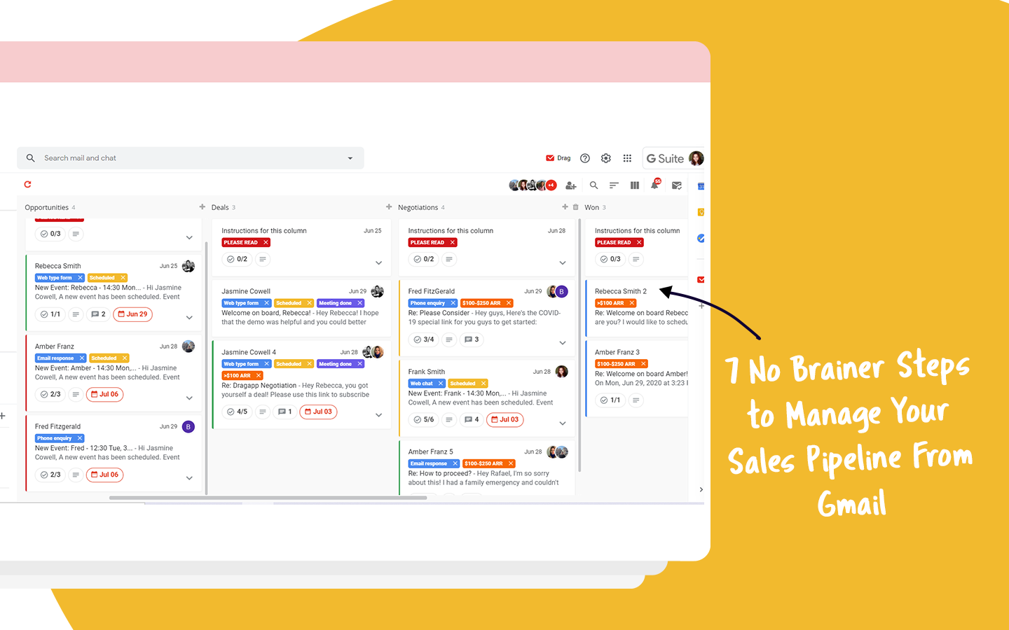 manage sales pipeline