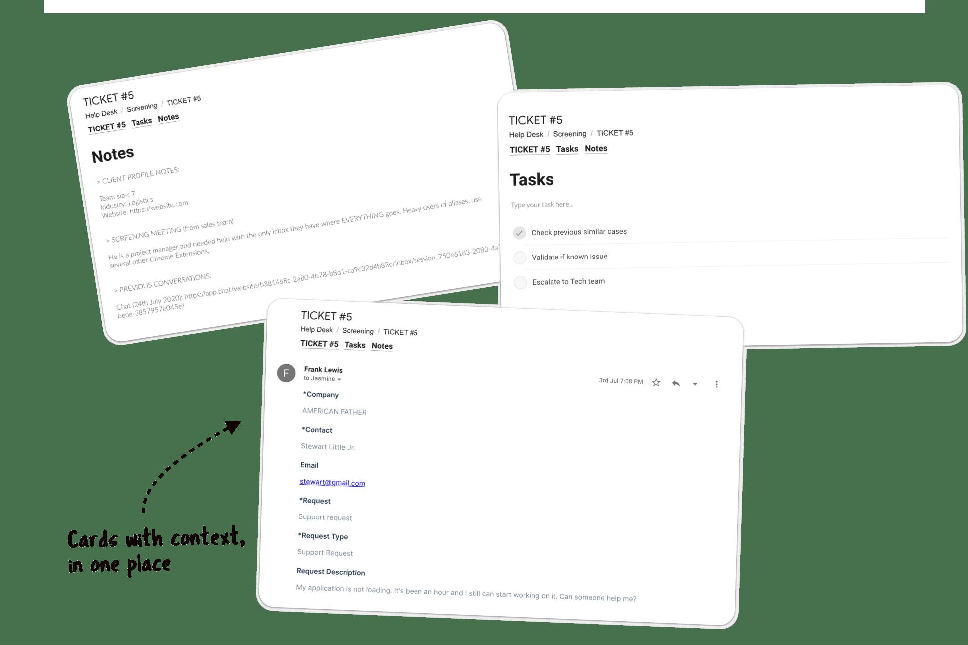 Customer Success Gmail