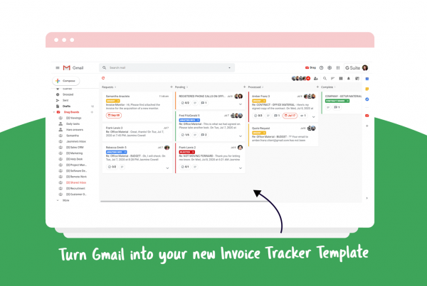 invoice tracker template