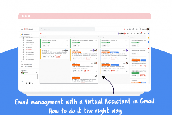 email management virtual assistant