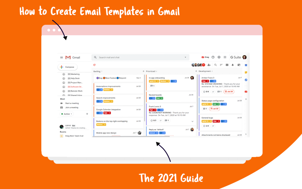 email templates gmail