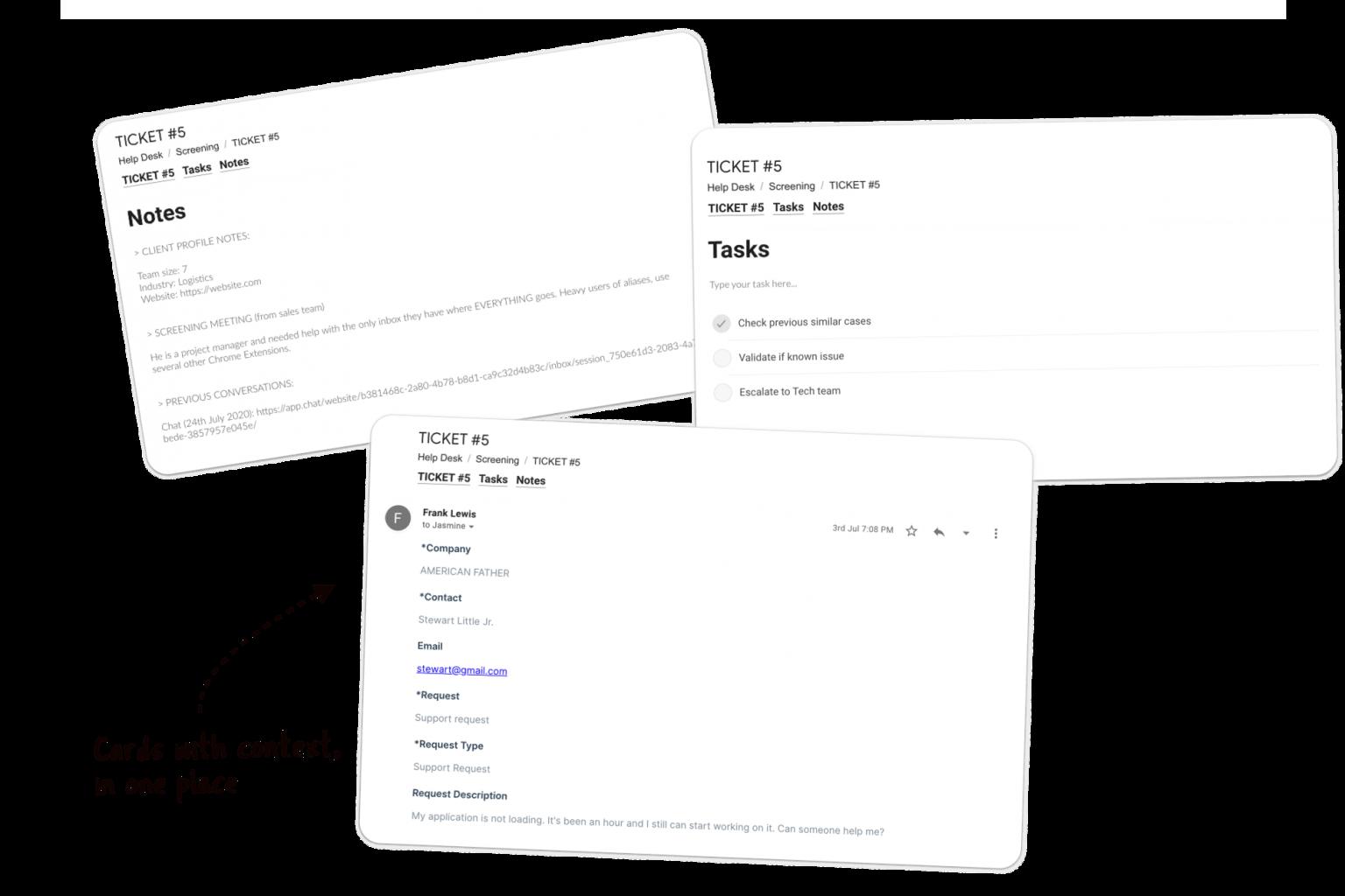 e-commerce support service