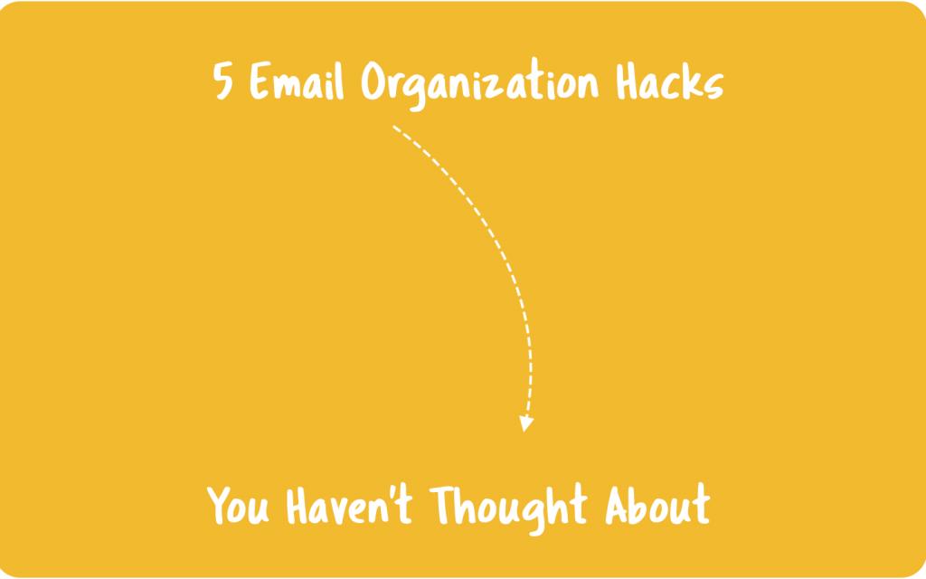 email organization